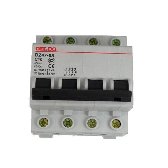 BEZPIECZNIK DELIXI C10/4 do agregatów trzyfazowych
