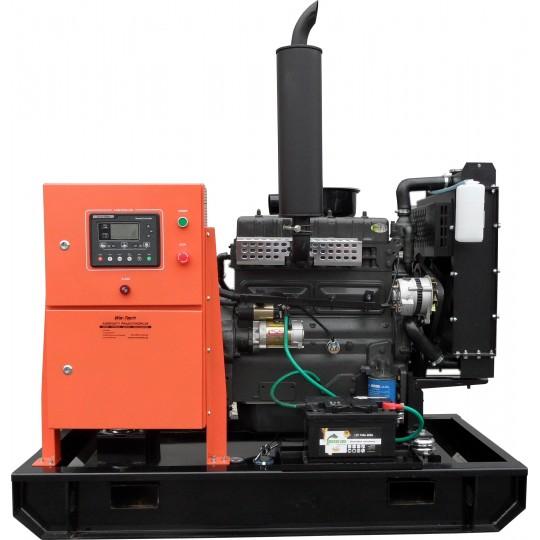 Agregat prądotwórczy 30kW 42kVA Barracuda otwarty