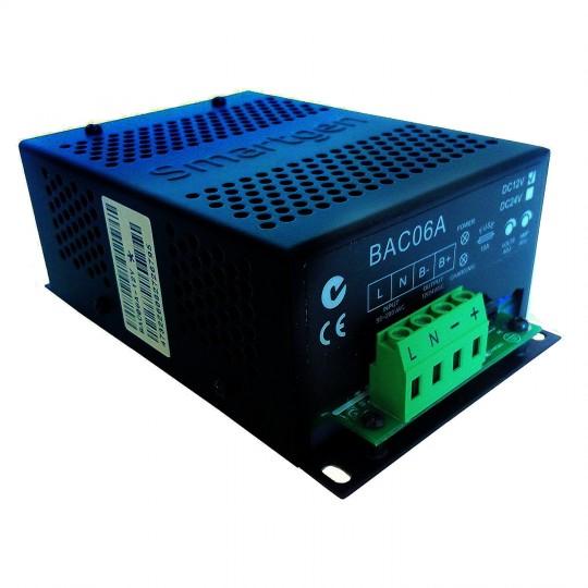 Prostownik SMARTGEN BAC06A-12V (12 V / 6 A, 90-280 V AC 50/60 Hz)