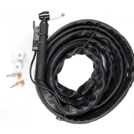Przewód 4m + uchwyt PT-31 do przecinarek plazmowych CUT-40 itp.