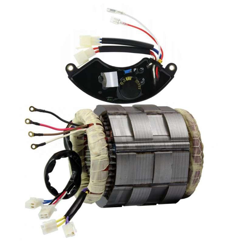 Stojan do agregatu 140 mm MIEDZIANY + AVR 5-9 kW