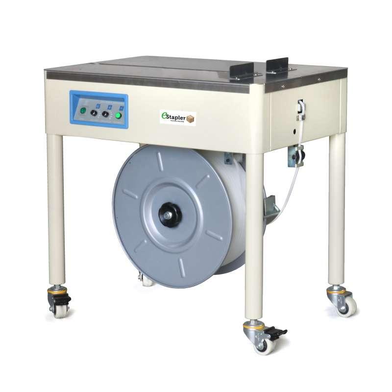 Półautomatyczna maszyna stół do spinania taśmą PP