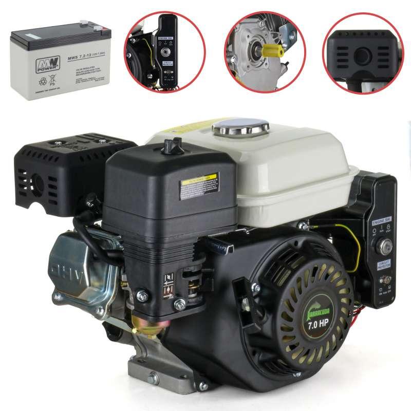 Silnik zamiennik HONDA GX160 20 mm r. elek. + AKU