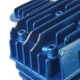 Sprężarka powietrza 300l/min kompresor 2 tłokowy 10 BAR 2055 BLUE OUTLET 19