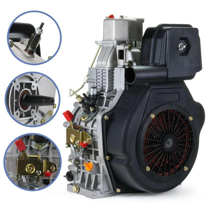 Silnik do agregatu pompy wody DIESEL SH1100FE 15KM