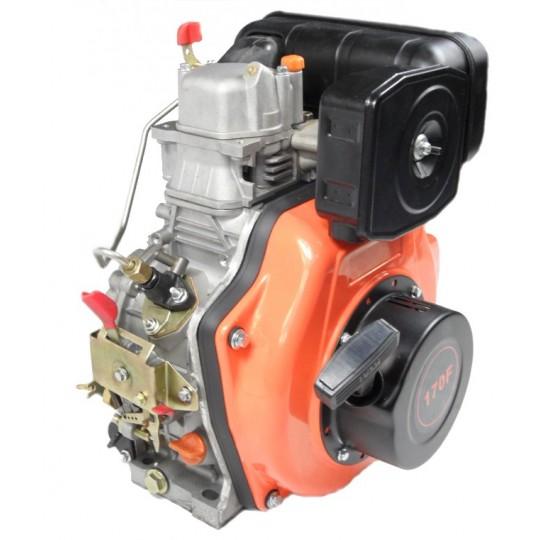Silnik diesla 170F z wałkiem stożkowym o gr 20mm do agregatów