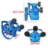 SPRĘŻARKA 10 BAR 3 cylindrowa kompresor powietrza olejowy 3090 Blue