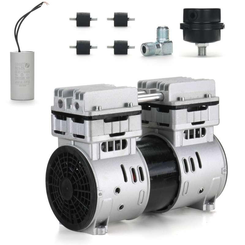 Silnik Pompa Kompresor cichy BEZOLEJOWY 750W 230V