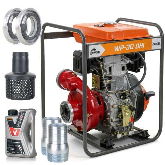 Motopompa DIESEL pompa wody ciśnieniowa 6 BAR DHI