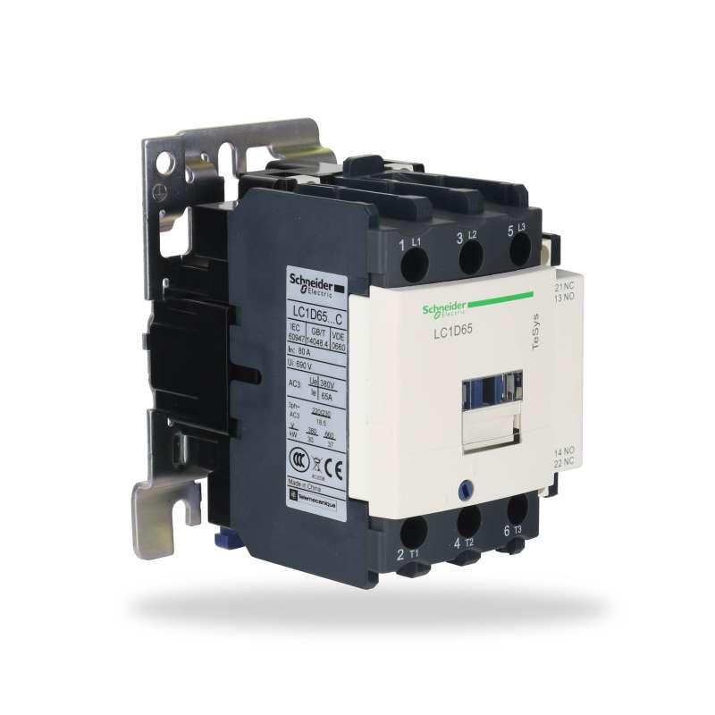 Stycznik prądu LC1D65F7C 220V 50/60Hz 30KW-380V 3F