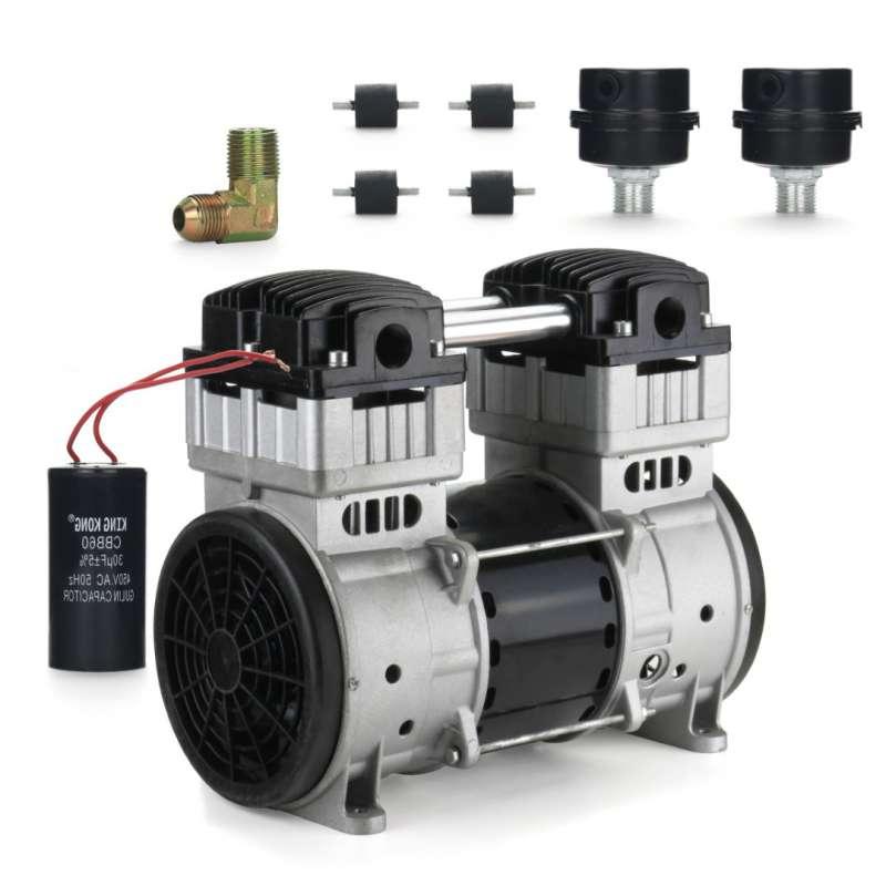 Silnik Pompa Kompresor cichy BEZOLEJOWY 1100W 230V