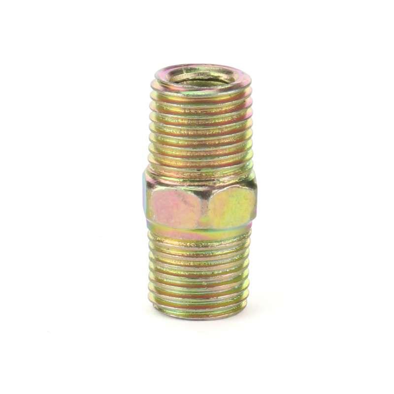 Nypel mosiężny mosiądz 1/4 13 mm wzmocniony
