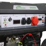 Agregat prądotwórczy 11kVA 3F Barracuda 9000 z rozruchem elektrycznym OUTLET 40