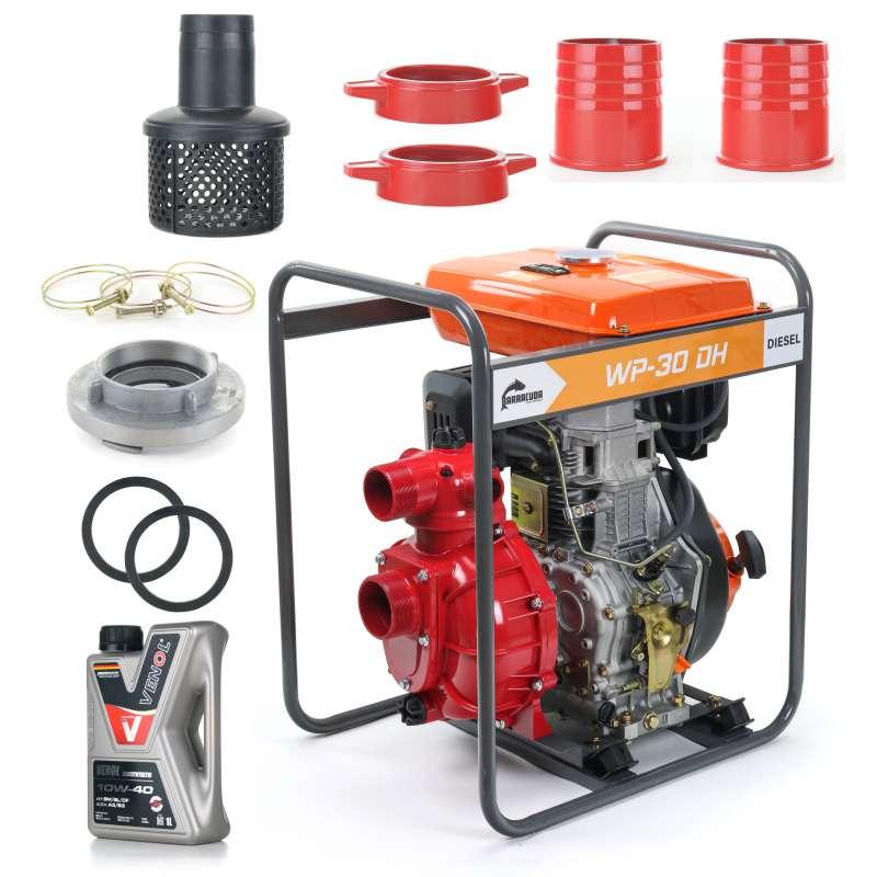 Pompa wody - Motopompa WP30DH Ciśnieniowa DIESEL
