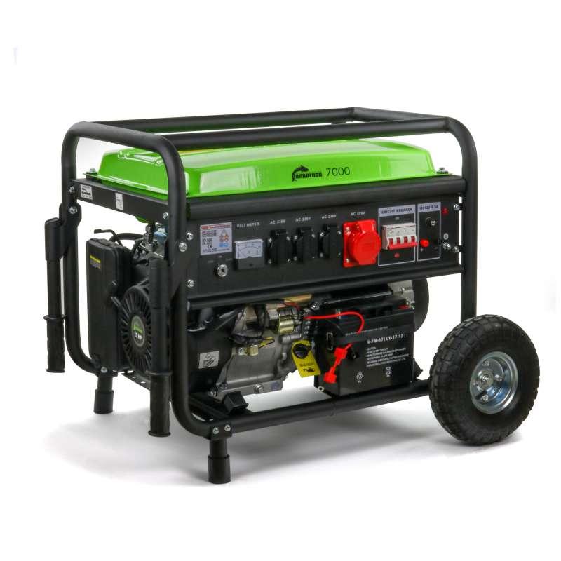 Agregat prądotwórczy 9kVA 3F Barracuda 7000 z rozruchem elektrycznym OUTLET NR. 10