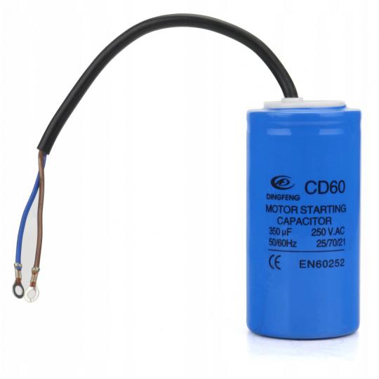 Kondensator rozruchowy 350uF 250V AC