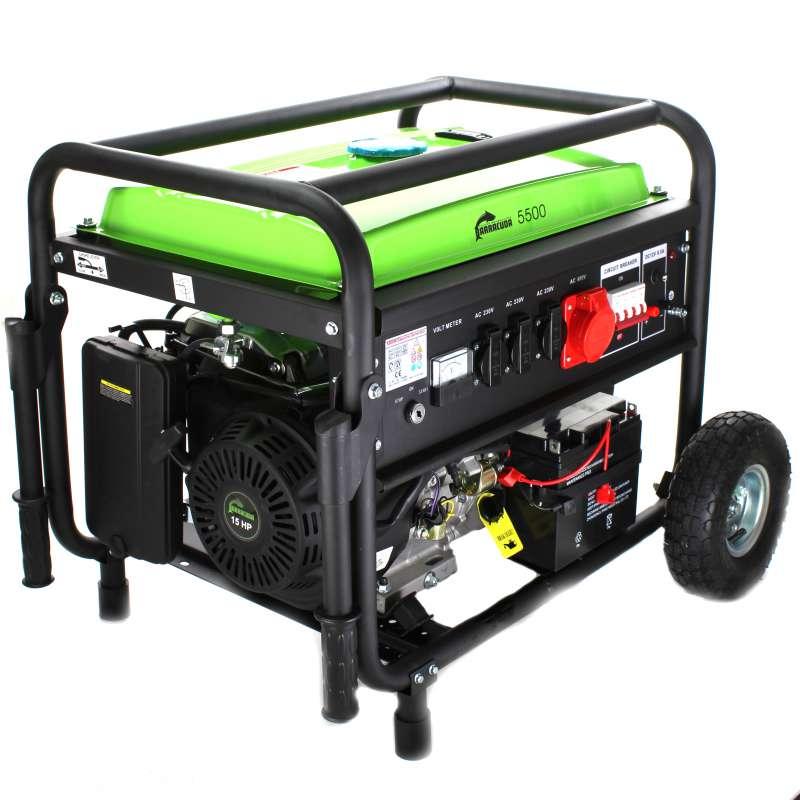 Agregat Prądotwórczy Barracuda 5,5 kW 3F rozr.el