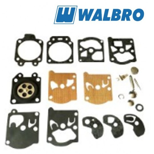 Membrany zestaw naprawczy WALBRO K10-WATA (nowy typ)
