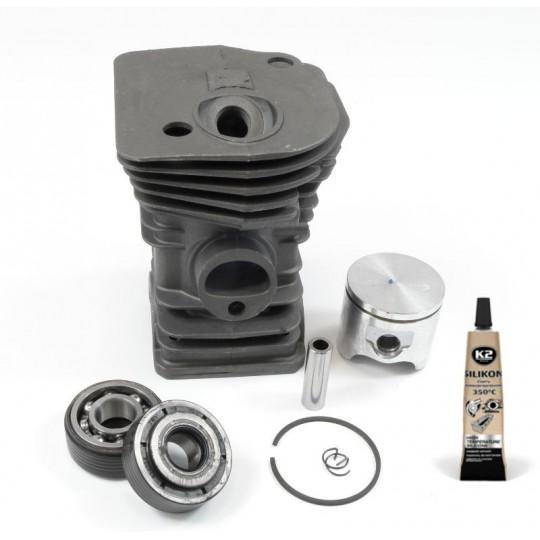 Zestaw - cylinder - tłok - łożysko - uszczelka Husqvarna 345