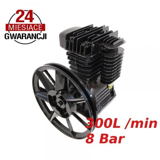 Sprężarka powietrza 300l/min kompresor 2 tłokowy 8 BAR 2055