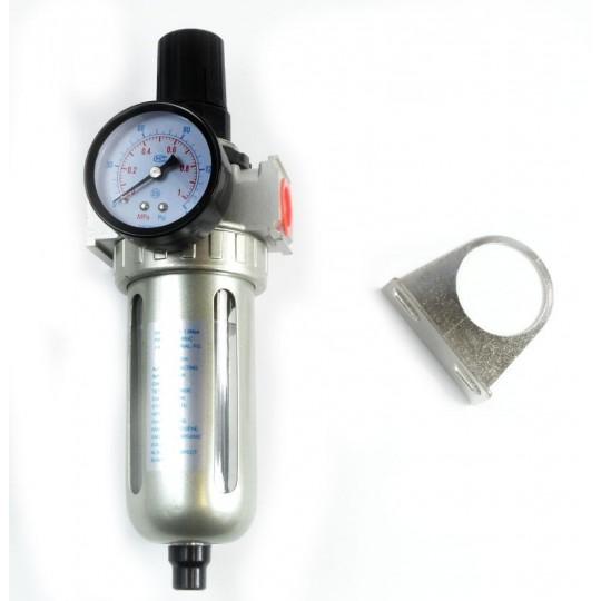 Reduktor powietrza z filtrem 1/4 cala