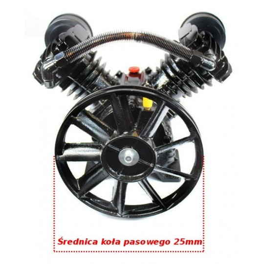 Sprężarka powietrza 400l/min - kompresor 2 tłokowy 8 BAR 2065