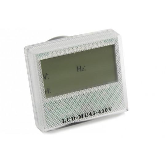 Licznik motogodzin, woltomierz, Hz LCD do agregatów 400V