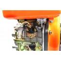 Silnik Diesla 178F YANMAR wał prosty rozruch elektryczny L178