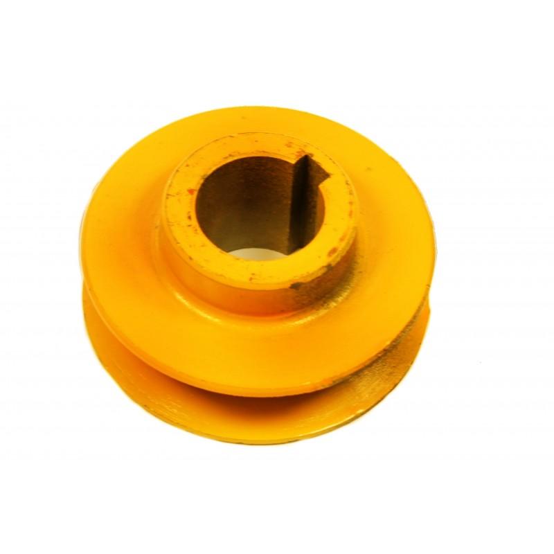 Koło pasowe do wibratora zagęszczarki 60 - 120 kg 28mm
