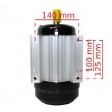 SILNIK elektryczny 1,5 kW 1400 230v 1 fazowy