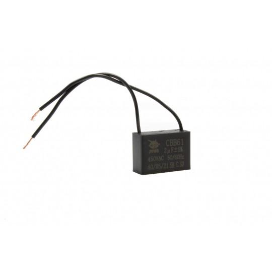 Kondensator rozruchowy do silnika 2uF 450V AC