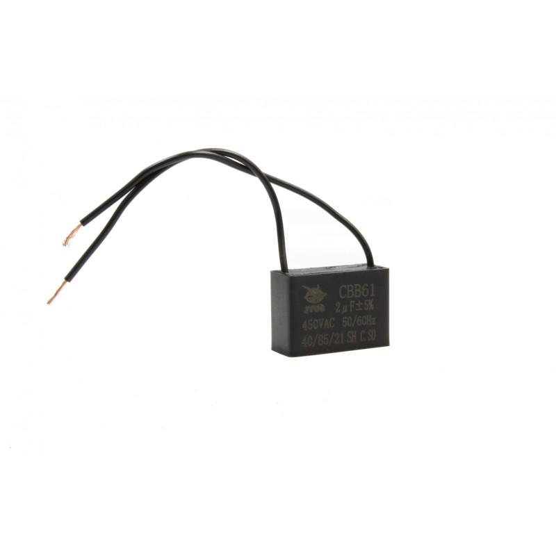 Kondensator rozruchowy 250uF 250V AC
