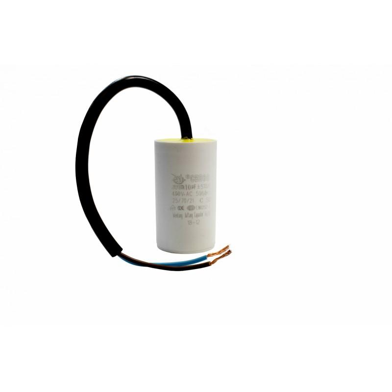 Kondensator rozruchowy 10uF 450V AC