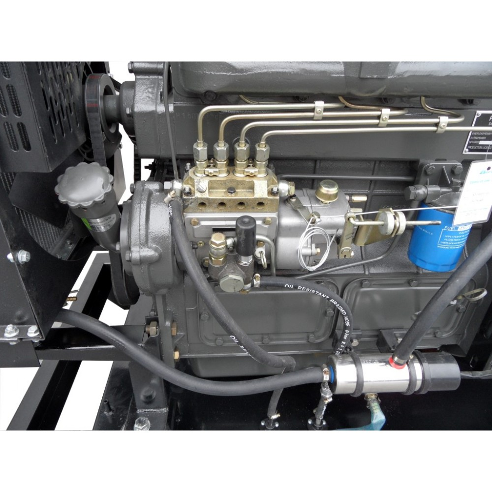 Wspaniały Agregat prądotwórczy 40kW 50KVA Barracuda SZR QD79