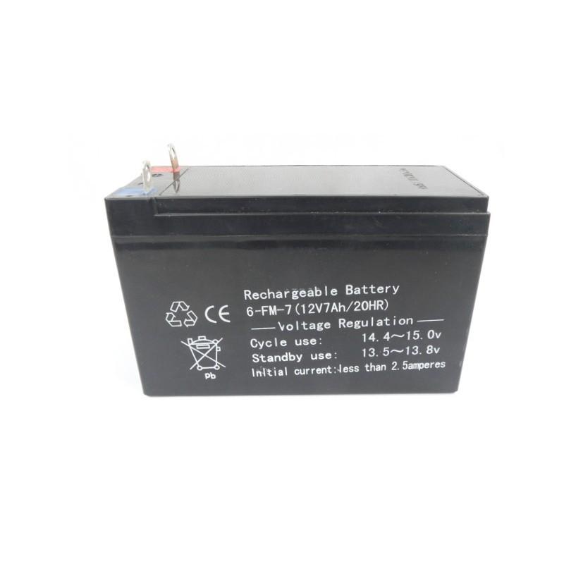 Akumulator żelowy 12V 7Ah do agregatu prądotwórczego