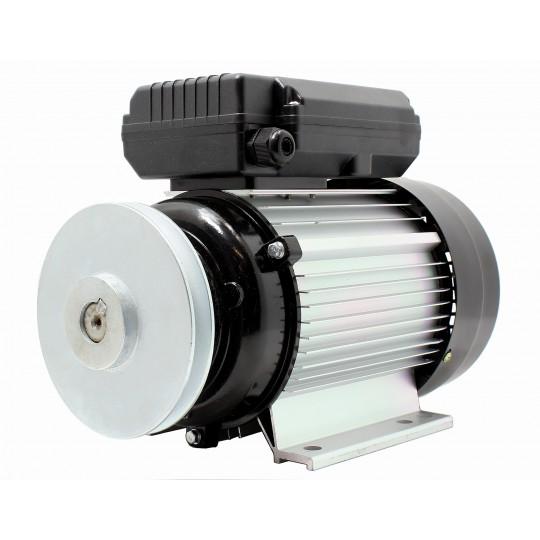 Silnik elektryczny 1,1kW 1450 z SZAJBĄ 140 230V 1F