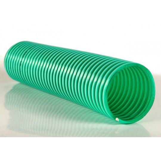Wąż ssawny PCV 2 cale 52mm - zielony