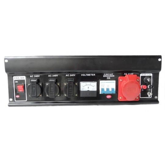 Panel przedni do agregatu prądotwórczego od 2 - 7kW
