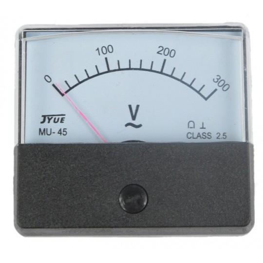 Woltomierz zakres pomiaru 0-300V do agregatów prądotwórczych