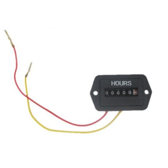 Analogowy licznik motogodzin do agregatu 230V