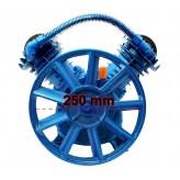 Sprężarka powietrza 400l/min - kompresor olejowy 2 tłokowy 10 BAR 2065 Blue