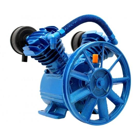 Sprężarka powietrza 400l/min - kompresor olejowy 2 tłokowy 8 BAR 2065 Blue