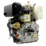 Silnik Diesla 186F YANMAR wał prosty rozruch elektryczny L100