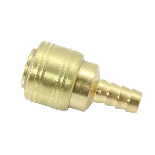 Szybkozłącze pneumatyczne z końcówką na wąż 10mm