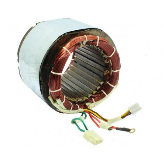Stojan prądnica długość pakietu 100 mm do agregatów jednofazowych 230V - MIEDZIANE UZWOJENIE!
