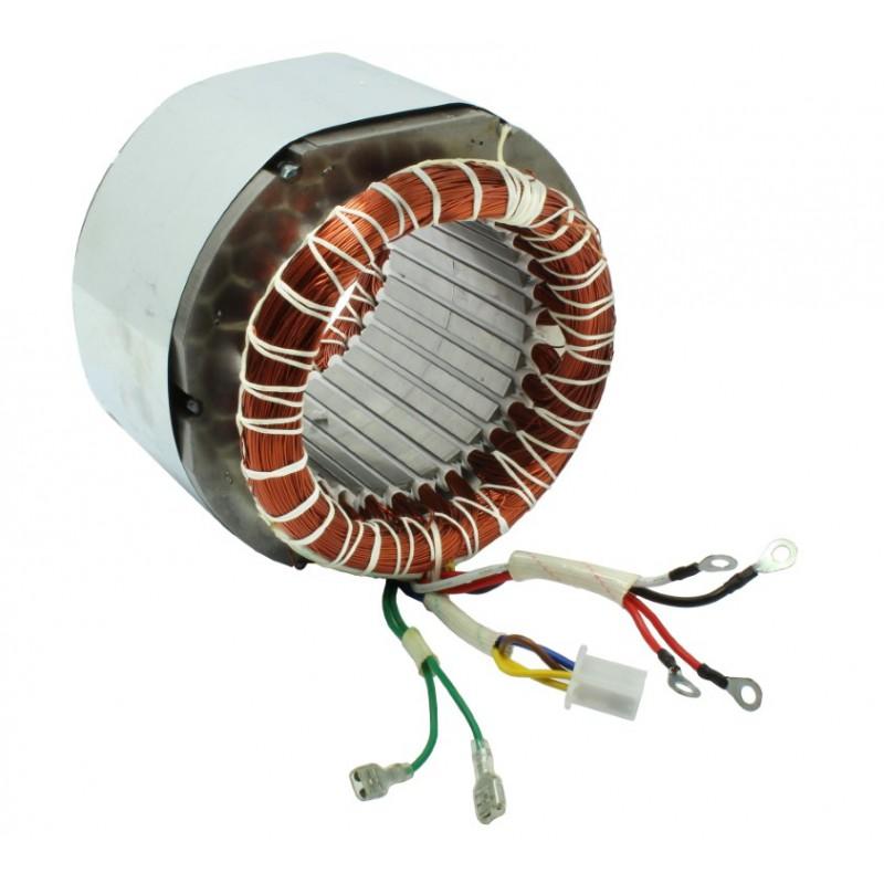 Stojan prądnica długość pakietu 85 mm do agregatów trójfazowy 230V, 400V