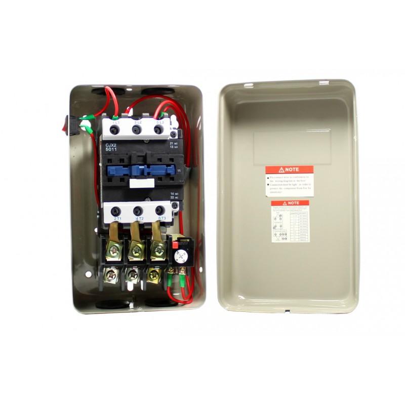 Stycznik kompresora sprężarki 15kW 400V wyłącznik