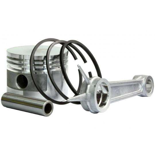 Tłok, pierścienie, korbowód do sprężarki powietrza - średnica tłoka 90mm