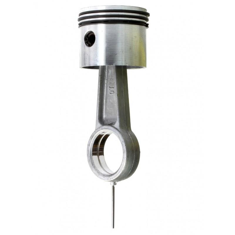 Tłok, pierścienie, korbowód do sprężarki powietrza - średnica tłoka 55mm