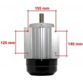 Silnik elektryczny 2,2kW (3KM) 1400 rpm 400V 3 fazowy